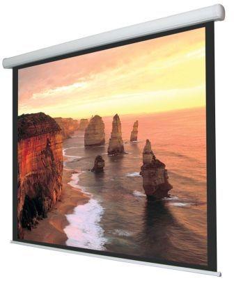 Ecran proiectie videoproiector electric Ligra Cinedomus 180/4:3