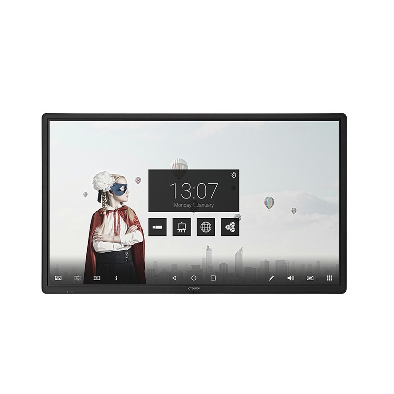 Display Interactiv Ultra HD CTOUCH Laser Air+ 86inch, 32 puncte touch Anti Glare