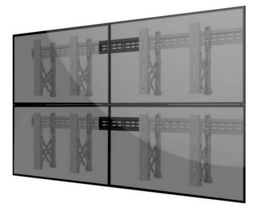 Suport universal video wall cu sistem Pop-Out GBC LVW02-46T