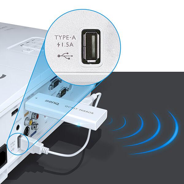 Videoproiector Benq MW632ST mufa tip a