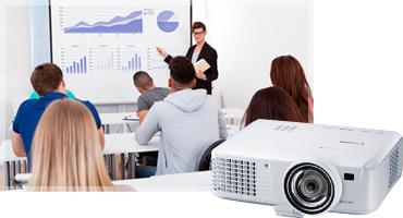 videoproiector canon lv-wx310st dlp educatie