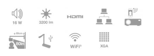 videoproiector epson EB-530 caracteristici esentiale