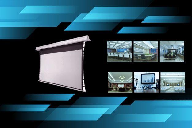 Ecranul de proiectie GBC este potrivit in orice mediu