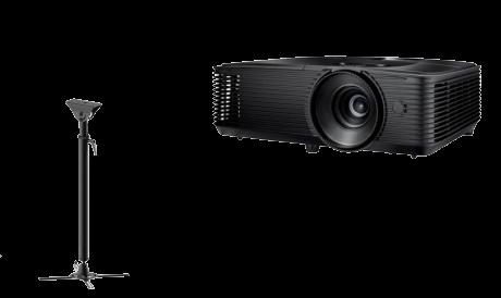 "Pachet interactiv IQboard Expert 94"" Inspired videoproiector si suport"