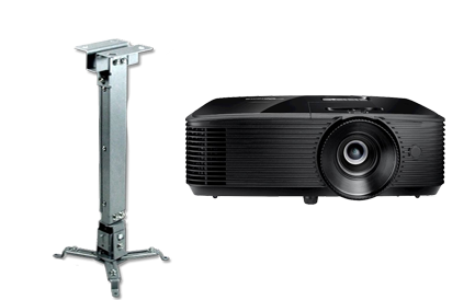 videoproiector  si suport pachet foundation iqboard 82