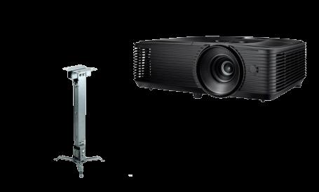 "Pachet interactiv IQboard Foundation 87"" - Magic videoproiector si suport"