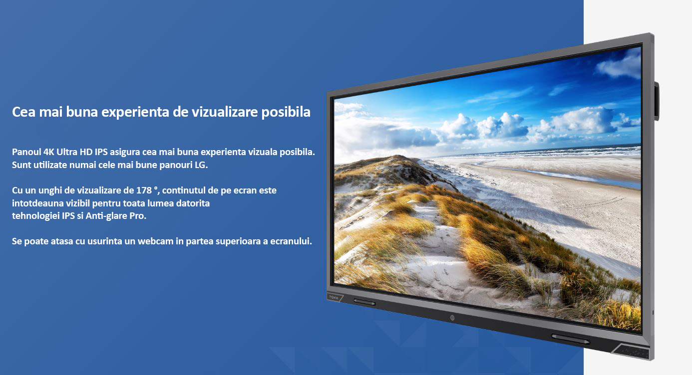 display interactiv prowise 75 inch 4k