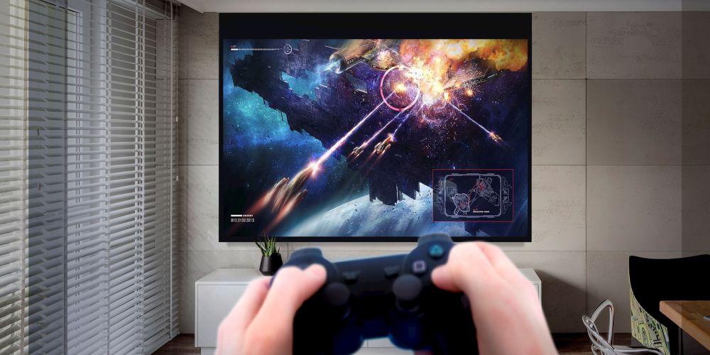 Videoproiector Optoma UHD42 gaming