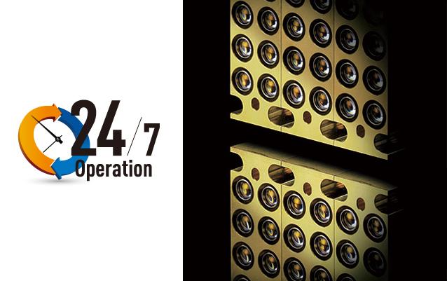 Videoproiector Panasonic PT-RZ870B, minimizare pierdere uniformitate luminozitate