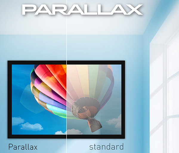Ecran de proiectie Projecta 161 x 249 Parallax 0.8