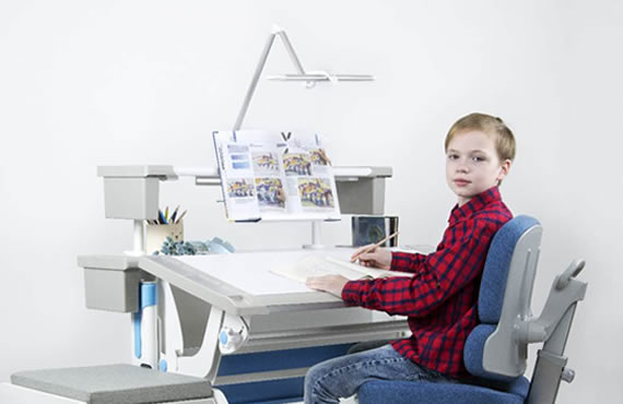 scaun birou 142L-BL singbee in camera copilului