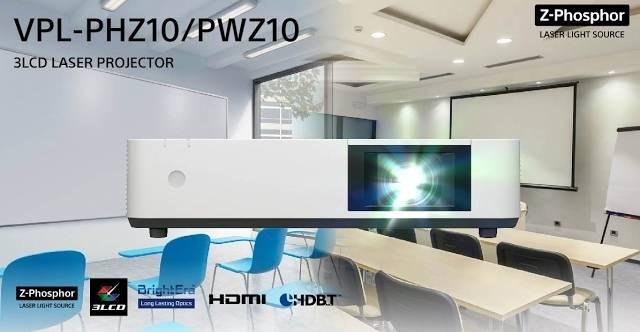 Videoproiector Sony VPL-PHZ10 mediile educational si business 1