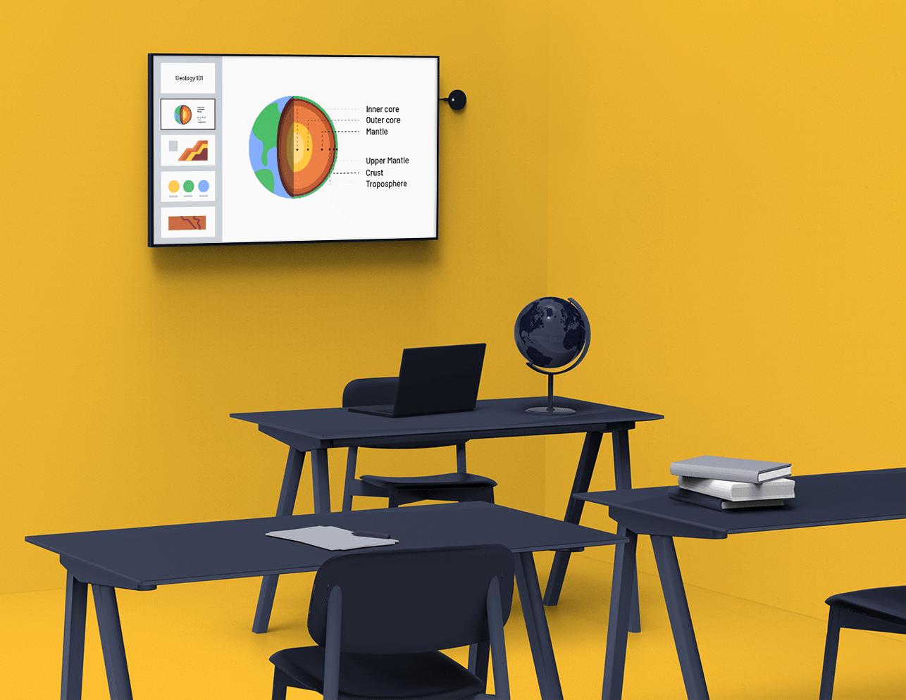 Dispozitiv wireless Airtame educatie