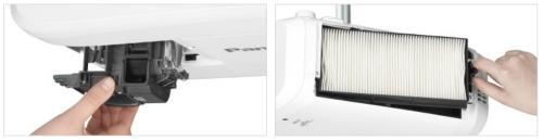 Videoproiector Panasonic PT-EX520L inlocuire lampa