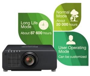 videoproiector Panasonic Laser PT-RZ770B presetari