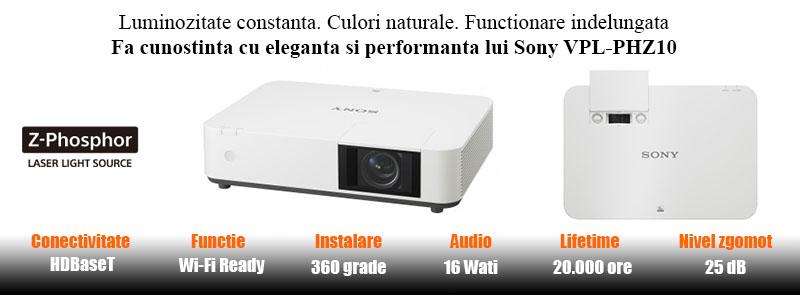 Videoproiector Sony VPL-PHZ10 caracteristici