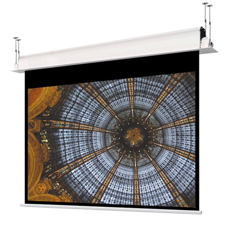 Ecran de proiectie electric Ligra incastrabil 180x138
