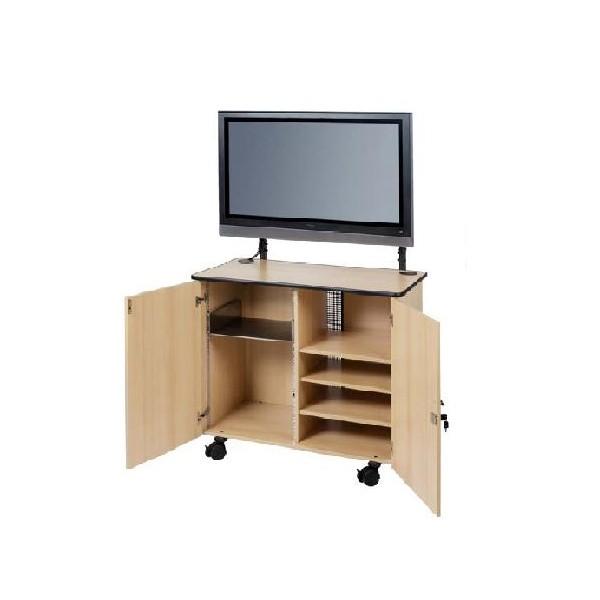 Cabinet mobil multimedia Vega cu suport ecran LCD-Plasma ST 42