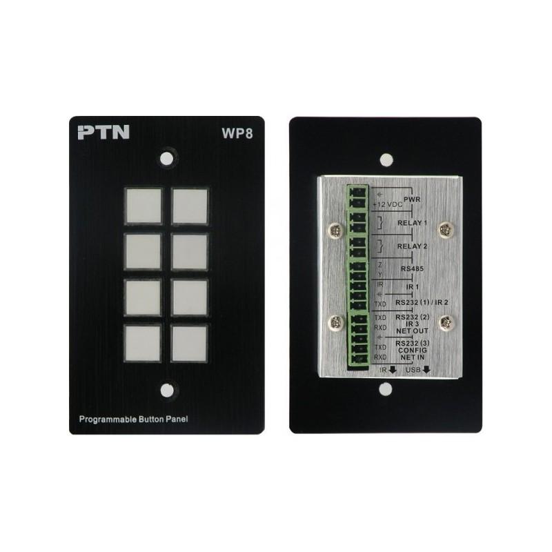 RS-232/IR Control Panel PTN WP8-B