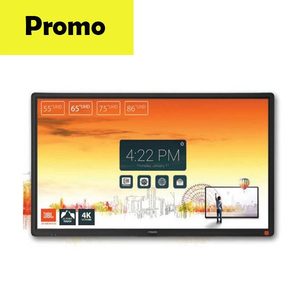 Display interactiv UHD CTOUCH Laser Sky 65 inch promo