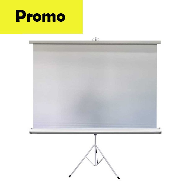 Ecran proiectie tripod GBC TRP200 , 200 x 200 cm promo