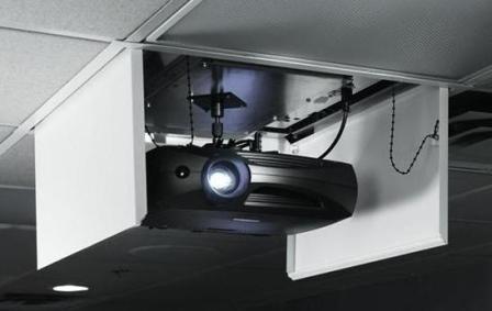 Lift Videoproiector Draper LCD - Model B Bomb Bay Doors