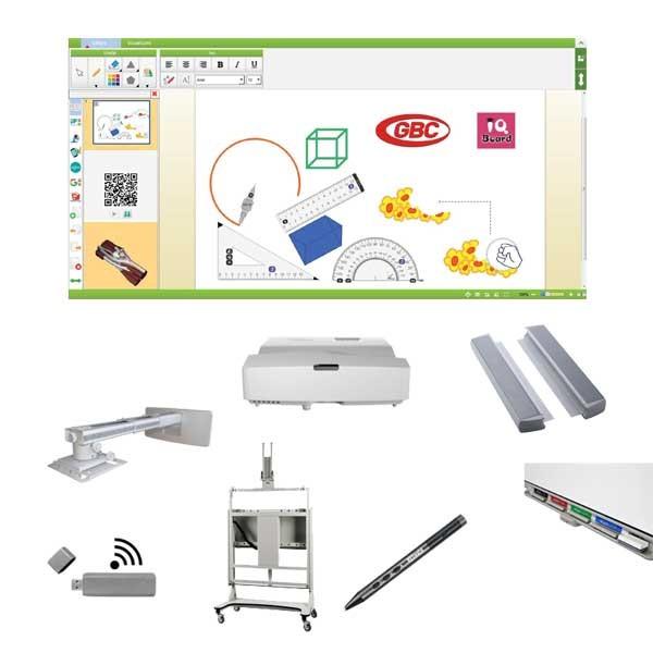 "Pachet interactiv IQboard Expert UST 94"" Innovative Teaching"