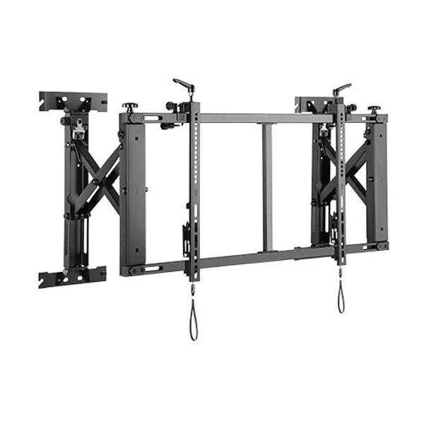 """Suport universal de perete GBC LVW12-50T pentru LCD/LED display 45""""-50"""" diagonala, sistem POP-OUT, vesa max 600x400, max 70kg"""