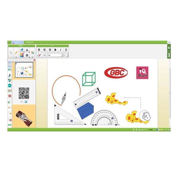 "Tabla Interactiva IQboard Expert - Diagonala 83"" functii"