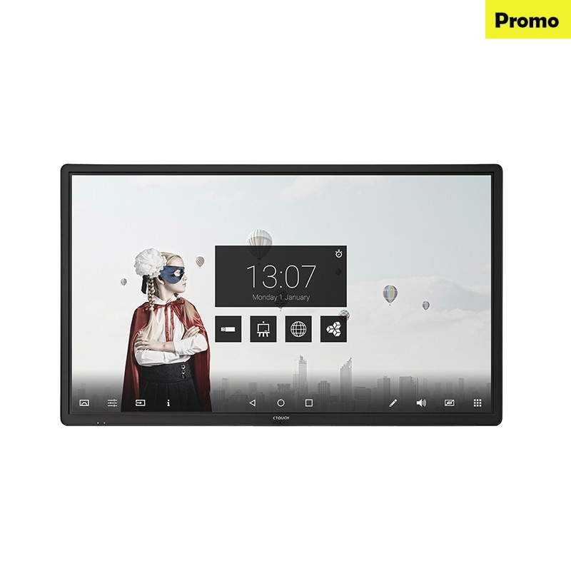 Display Interactiv Ultra HD CTOUCH Laser Air+ 65 inch