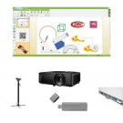 "Pachet interactiv IQboard Expert 94"" - Inspired cu pentray interactiv"