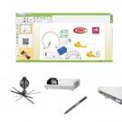 "Pachet interactiv IQboard Expert ST 83"" Bright Minds"