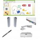 "Pachet interactiv IQboard Expert UST 94"" Innovative Teaching cu pentray interactiv si incinte acustice integrate"