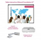 "Pachet Interactiv IQboard Foundation UST 87"" Innovative Teaching"