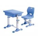 Set birou si scaun copii SingBee Student Desk ST-A-BL albastru