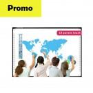 "Tabla Interactiva IQboard Foundation - Diagonala 82"" software limba romana promo"