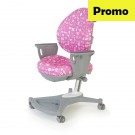 Scaun birou copii ergonomic SingBee 138-PK cu suport brate
