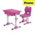 Set birou si scaun copii SingBee Student Desk ST-A-PK roz